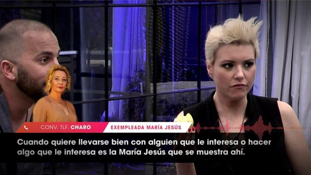 """Charo, exempleada de María Jesús: """"Escupía muy cerca de mis pies"""""""