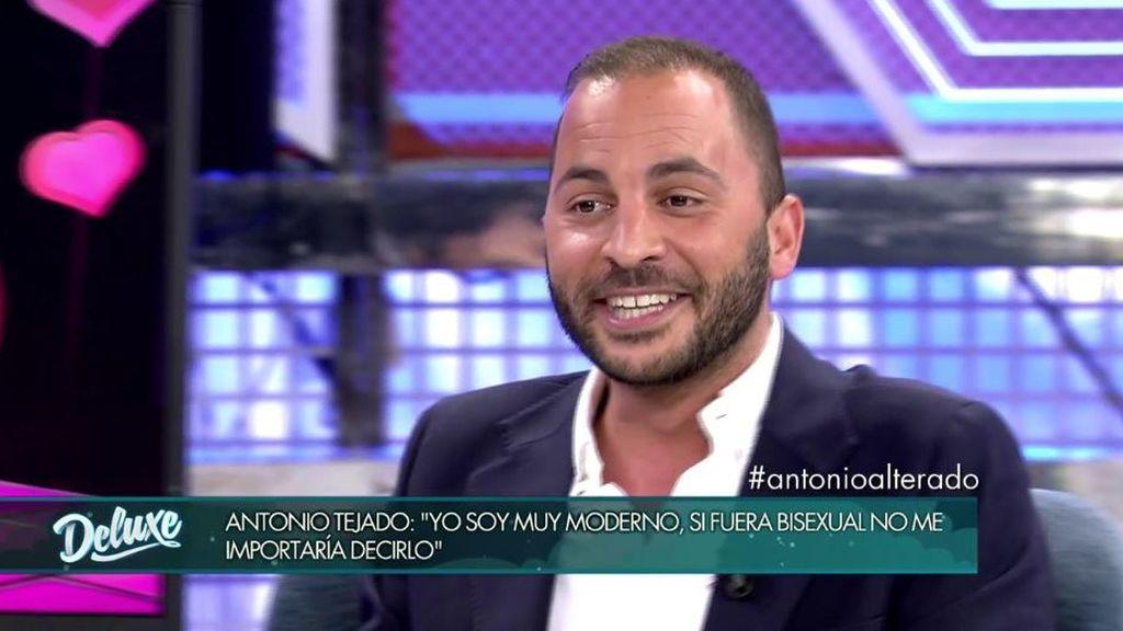 """Antonio Tejado: """"Soy hetero pero antes he probado otro tipo de cosas"""""""