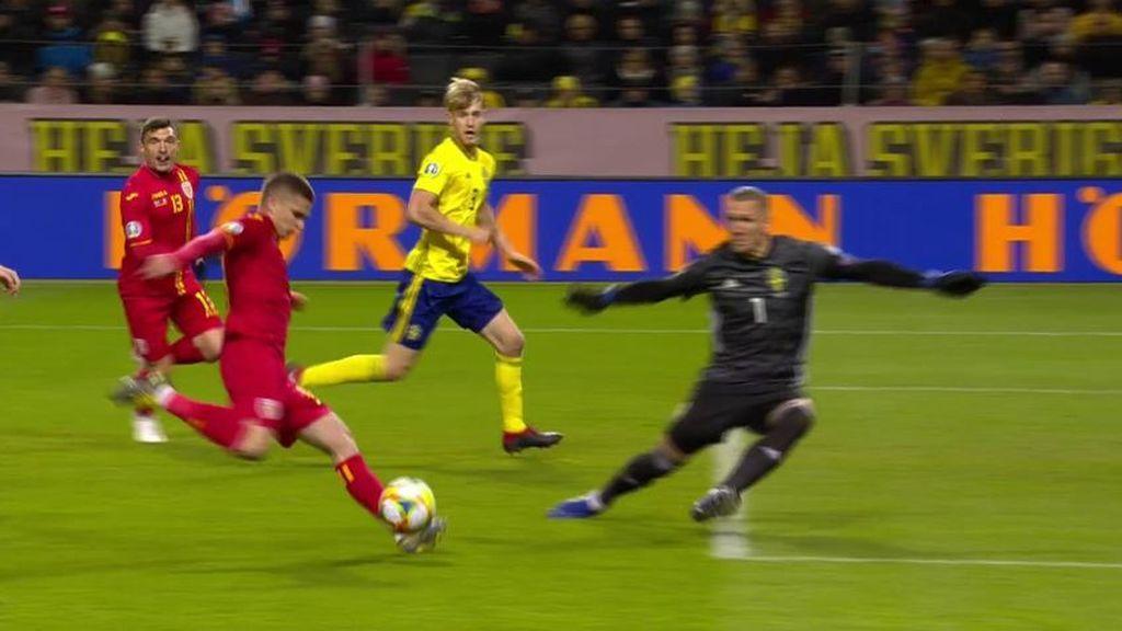 Keșerü entra con todo para recortar distancias ante Suecia