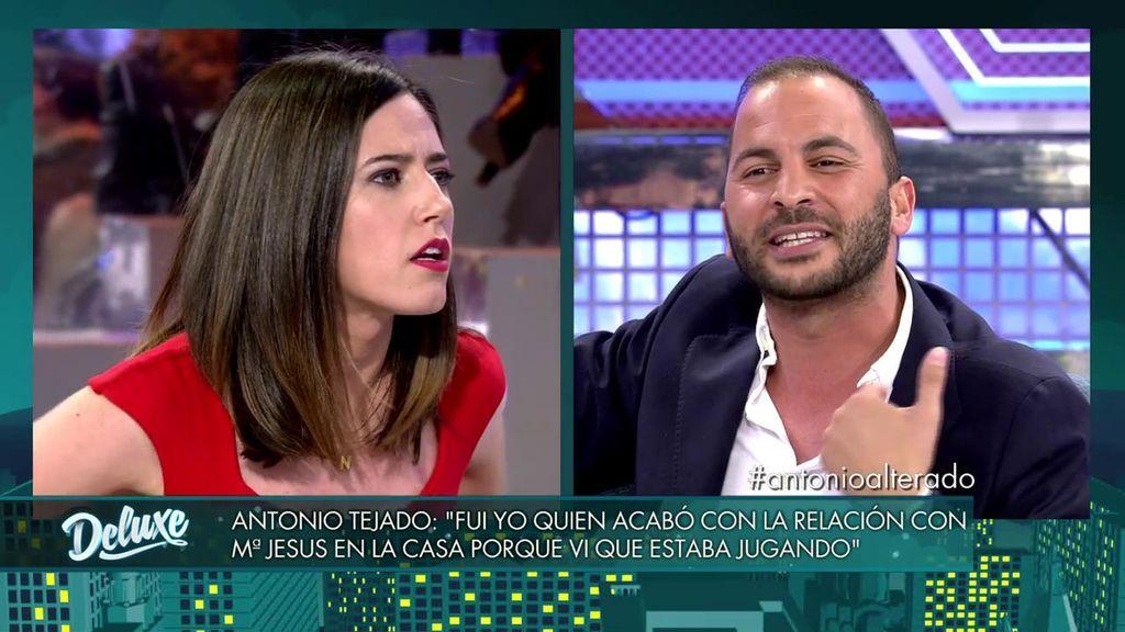 """Duro enfrentamiento entre Nuria Marín y Antonio Tejado: """"¿Tú me ves cara de tonta?"""""""