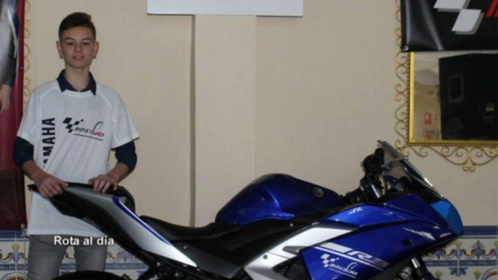 Muere con 14 años el piloto gaditano Marcos Garrido tras sufrir una caída en el Circuito de Jerez