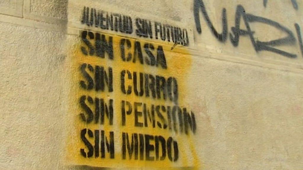 El paro y la temporalidad acorralan a los jóvenes españoles