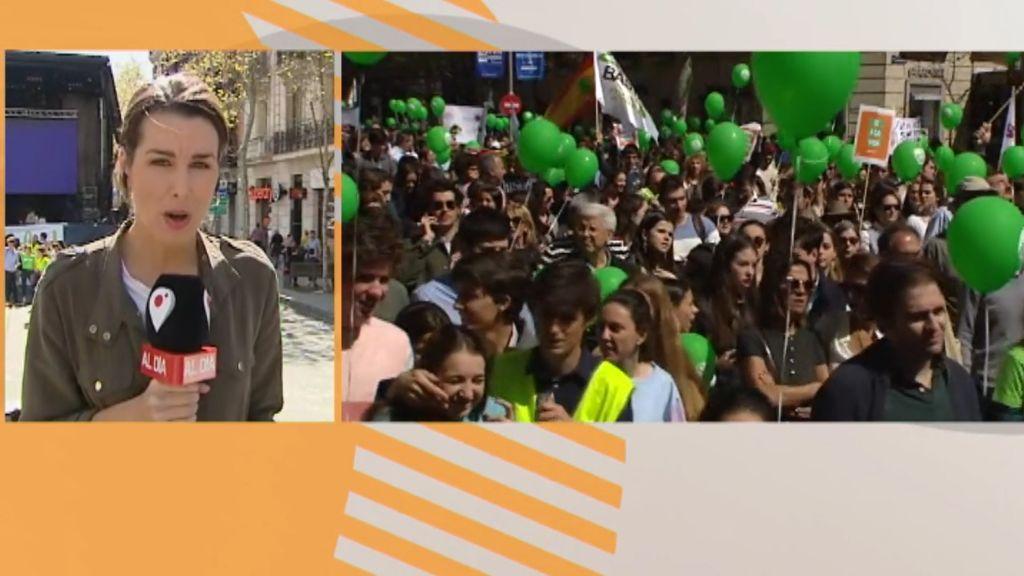 """Manifestación en Madrid contra el aborto """"sean cuales sean las condiciones del feto"""""""