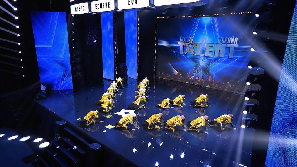 Hipi Hop Stars!!! lo dan todo con su coreografía pero se topan con 'Edurnator'