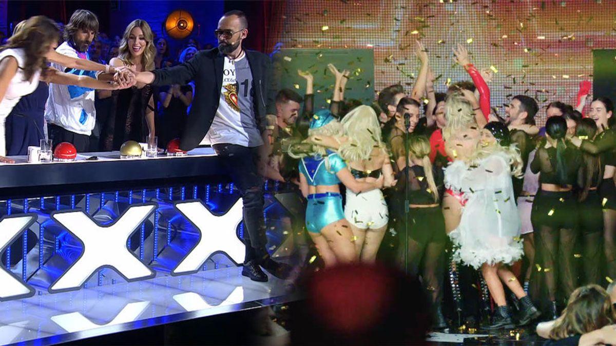 Unánime y con amenaza de dimisión de Risto: QDS Megacrew consigue el último 'Pase de oro' de 'Got Talent'