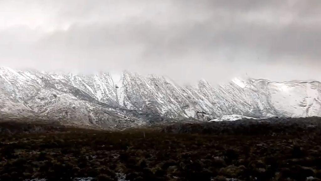 Nieve en el Teide: las cinco mejores imágenes de la que está cayendo