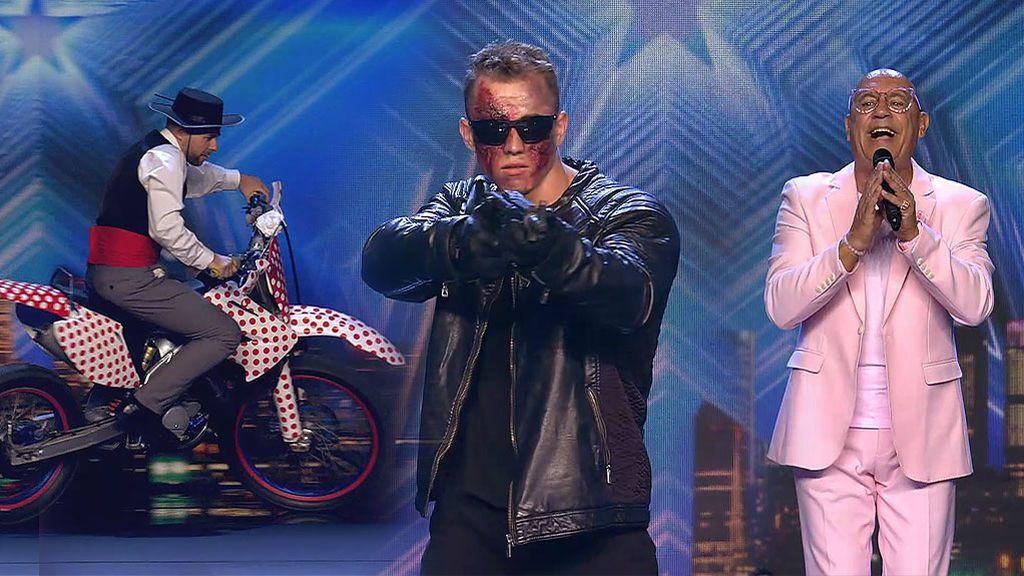 """Félix y su baile con moto, Robert 'Terminator' y 'El Rosado' no convencen al jurado: """"Me indigna que me tomen el pelo"""""""