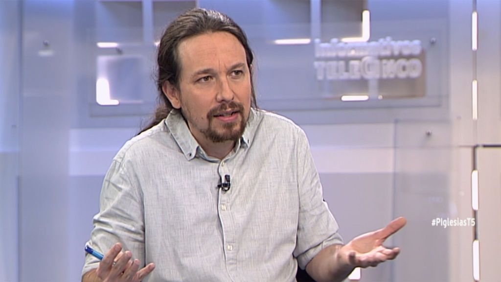"""Pablo Iglesias: """"No hubo insurrección armada en el 1-O"""""""