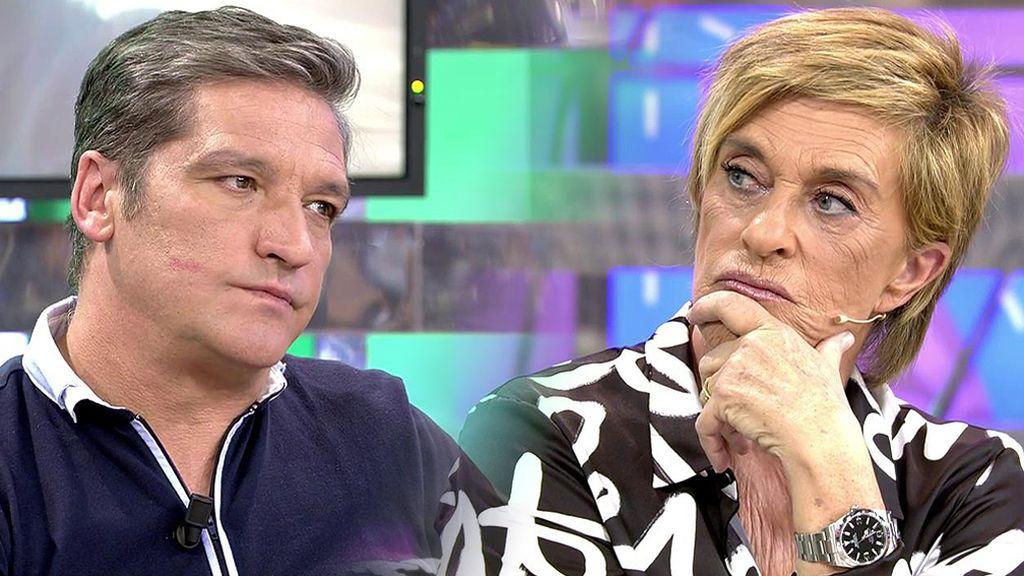 Gustavo González niega a Chelo García Cortés: No le hizo el reportaje junto a su mujer para saldar una deuda