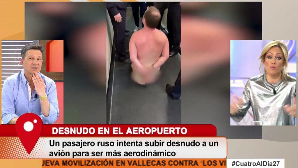 Un Turista Ruso Se Desnuda En El Aeropuerto Porque Así Soy Más