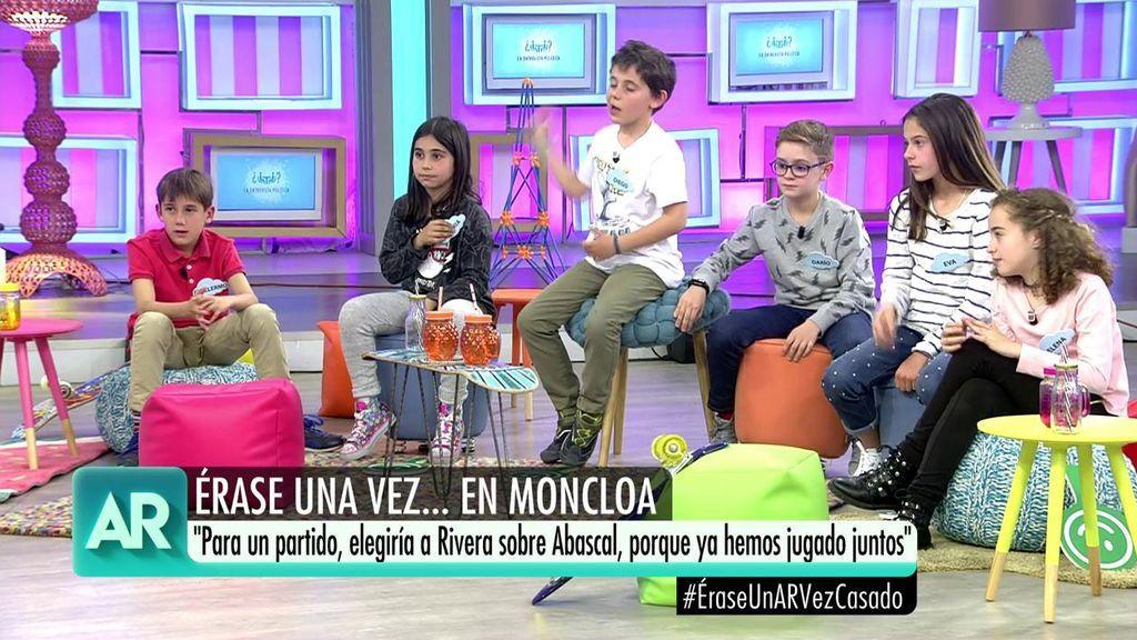 El artículo 155, Abascal o Rivera: las preguntas más políticas de los niños a Pablo Casado