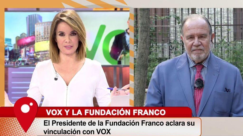 Carme Chaparro da un corte al presidente de la Fundación Francisco Franco: ''Yo leo mucho y además, escribo''