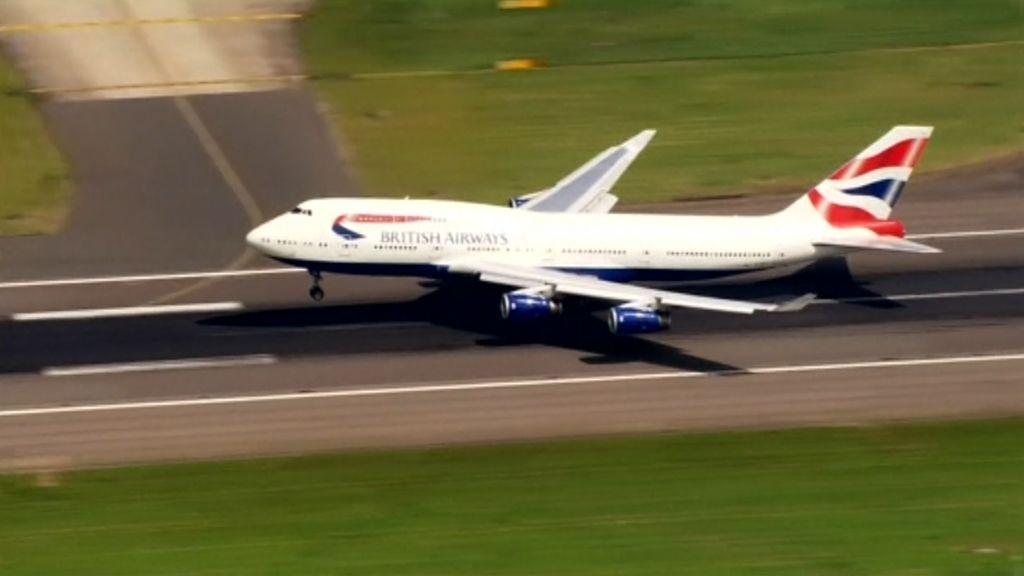 British Airways se equivoca y envía un avión a Escocia en lugar de Alemania