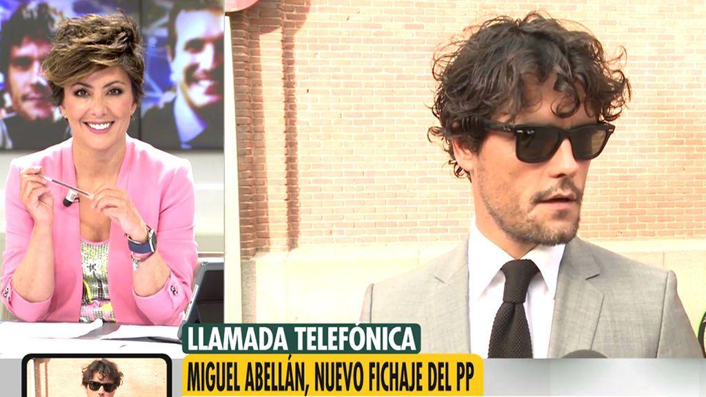 """Primera entrevista a Miguel Abellán como miembro del PP: """"El mundo del toro necesita un referente"""""""