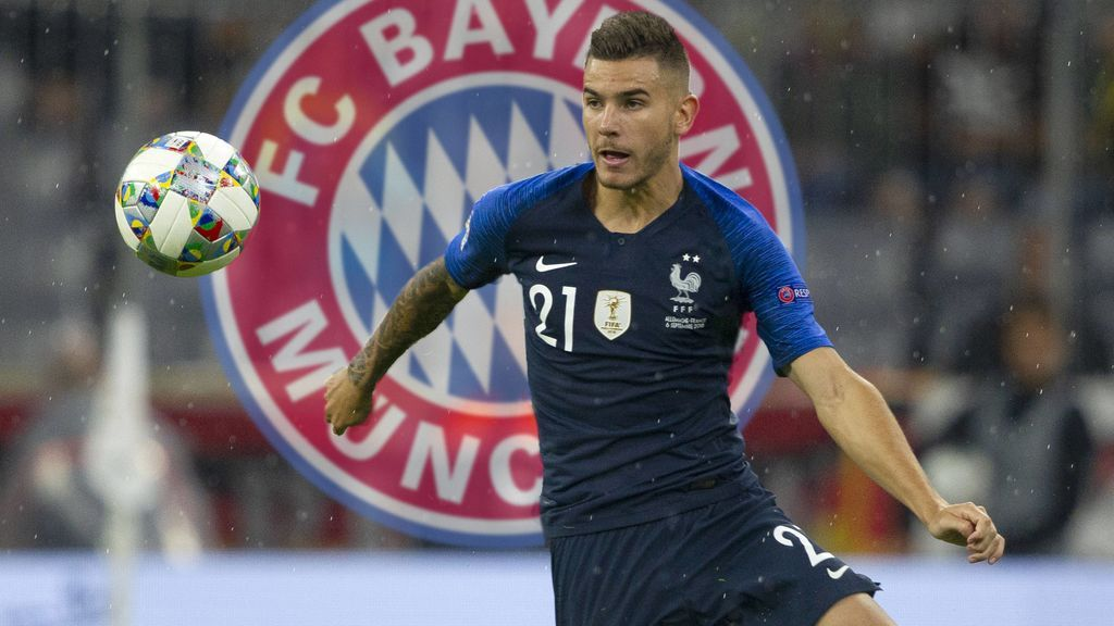 El Bayern hace oficial el fichaje de Lucas Hernández por 80 millones de euros