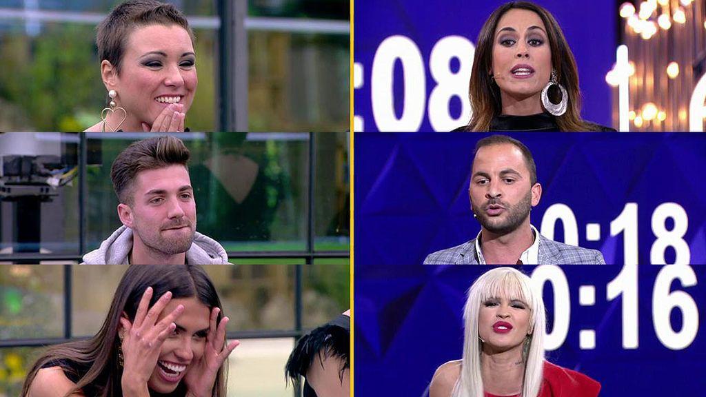 Mª Jesús, Alejandro y Sofía eligen a exconcursantes para sus alegatos: Raquel, Antonio e Ylenia, respectivamente