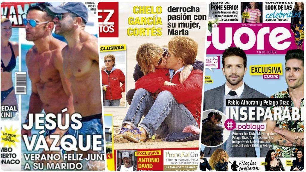 Corazón sin armario: la información gay toma la prensa rosa (con total naturalidad)