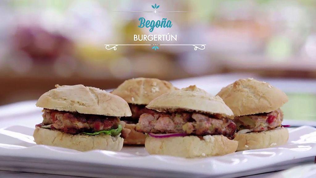 Aprende a hacer la 'Burguertun', la hamburguesa de Begoña