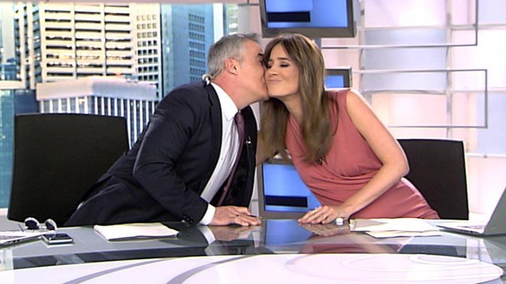 Isabel Jiménez va a ser mamá y esta es la cariñosa despedida de David Cantero