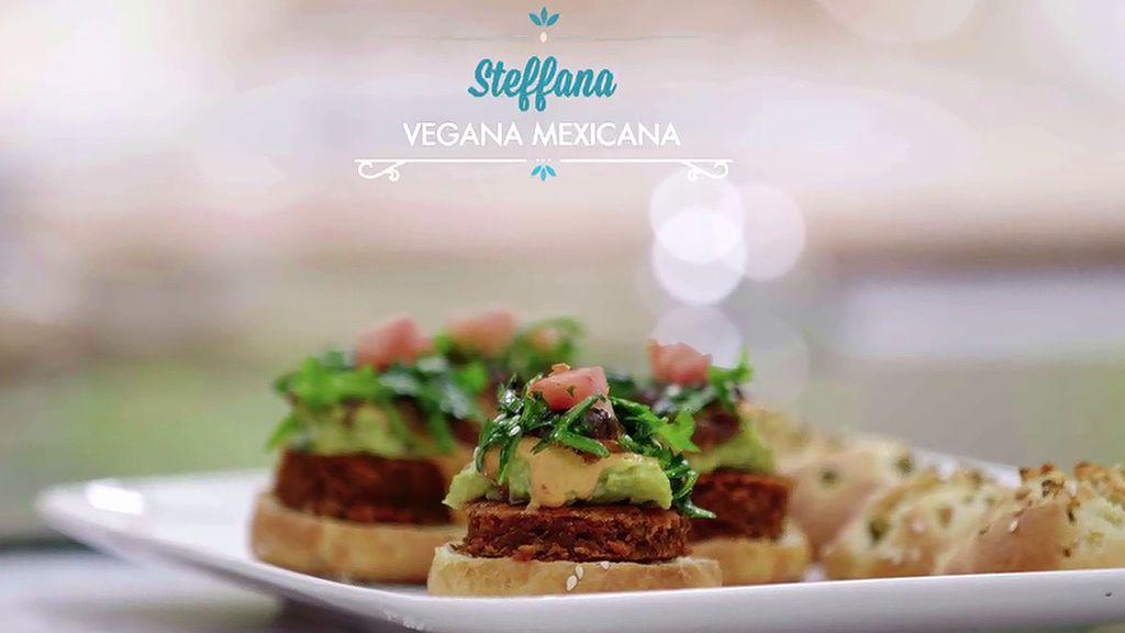 Elabora paso a paso la hamburguesa 'Vegana mexicana' de Steffana