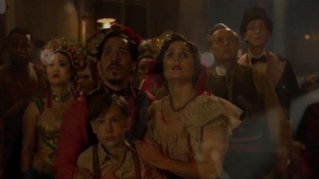 Dos españoles en el gran circo del Dumbo de Tim Burton