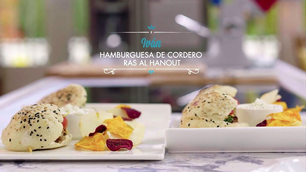 HAMBURGUESA DE CORDERO RAS AL HANOUT