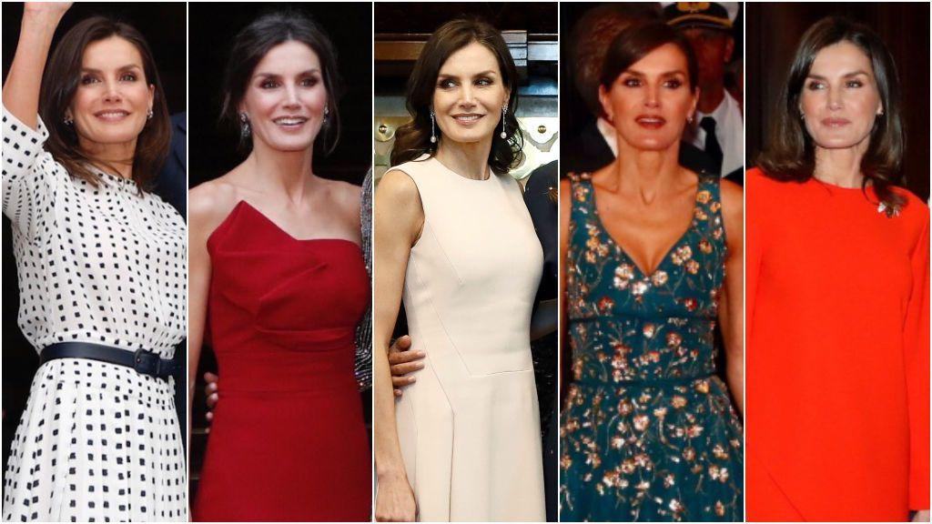 Aciertos y errores de los estilismos de la reina Letizia en su viaje a Argentina