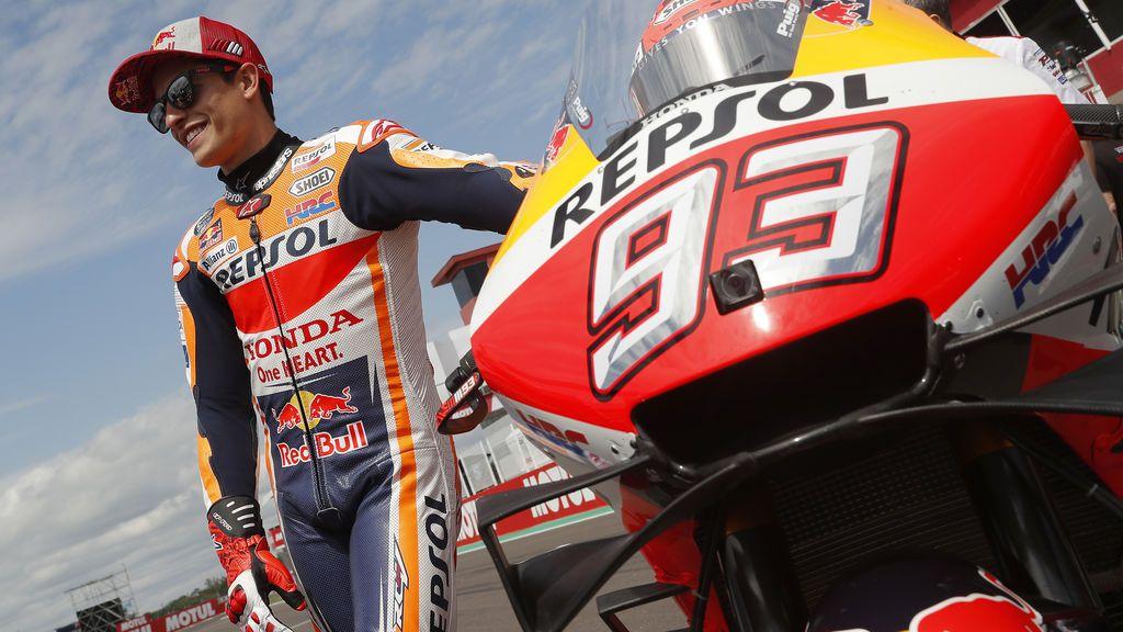 Márquez manda con autoridad en Argentina y consigue la pole por delante de