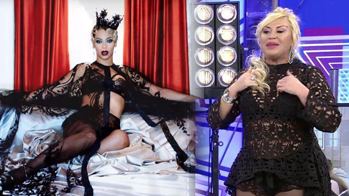Raquel Mosquera luce 'lookazo' y se transforma en la versión 'cañí' de Beyoncé