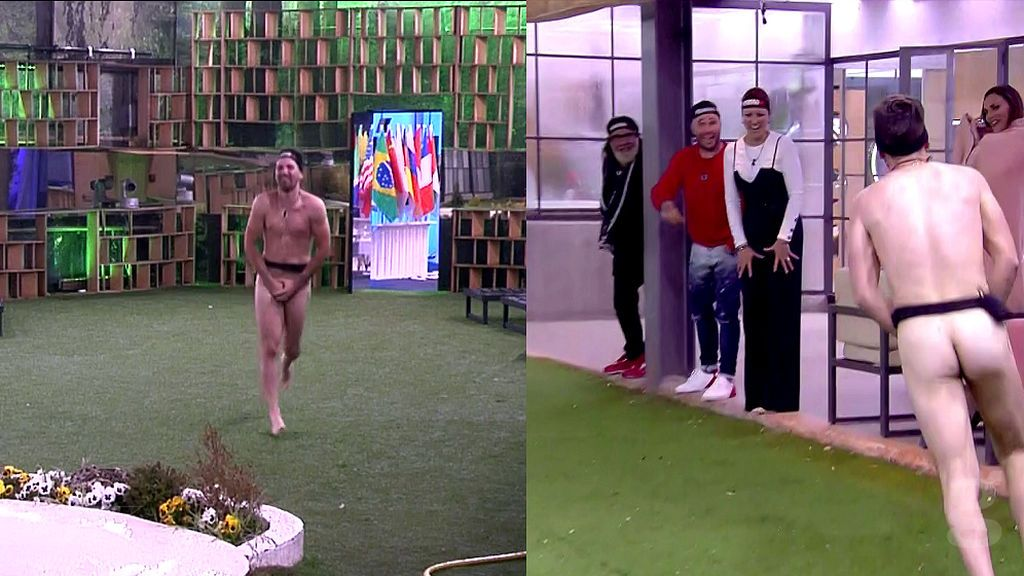 Alejandro desnudo