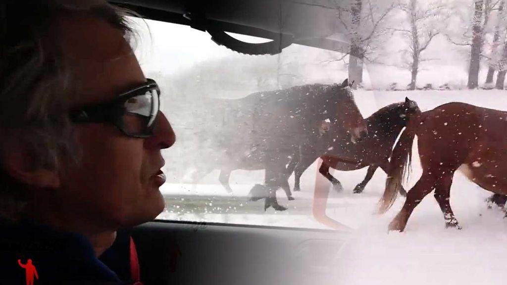 Conducir con nieve y hielo: los consejos de Jesús Calleja