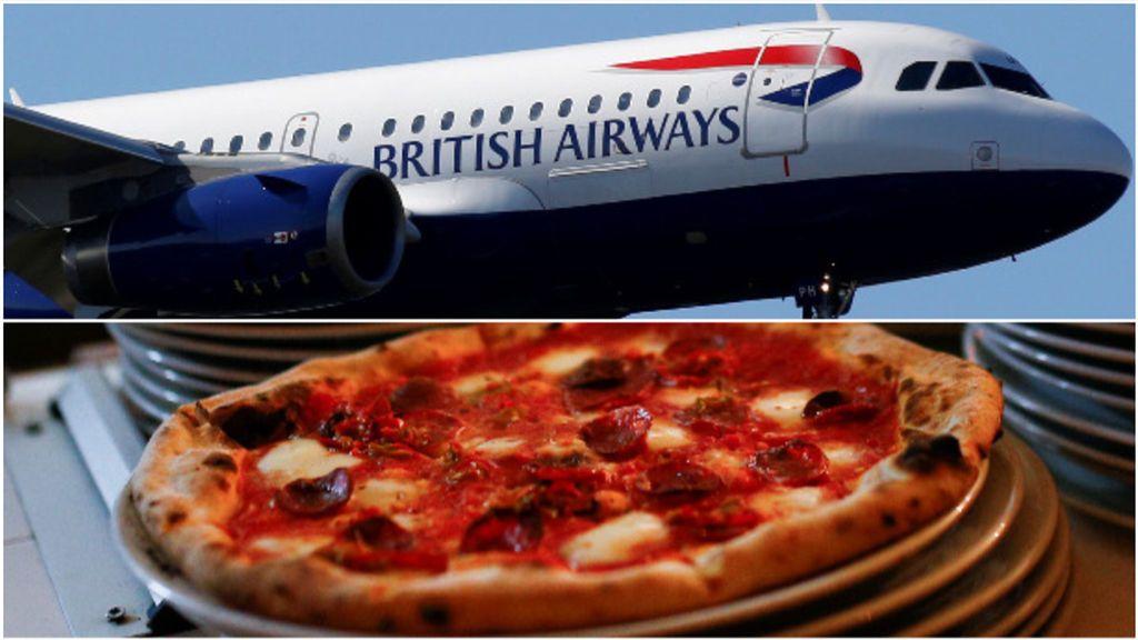 """Nigerianos adinerados """"piden pizzas a Londres para recogerlas en el aeropuerto"""" más de 6.000 kilómetros después"""
