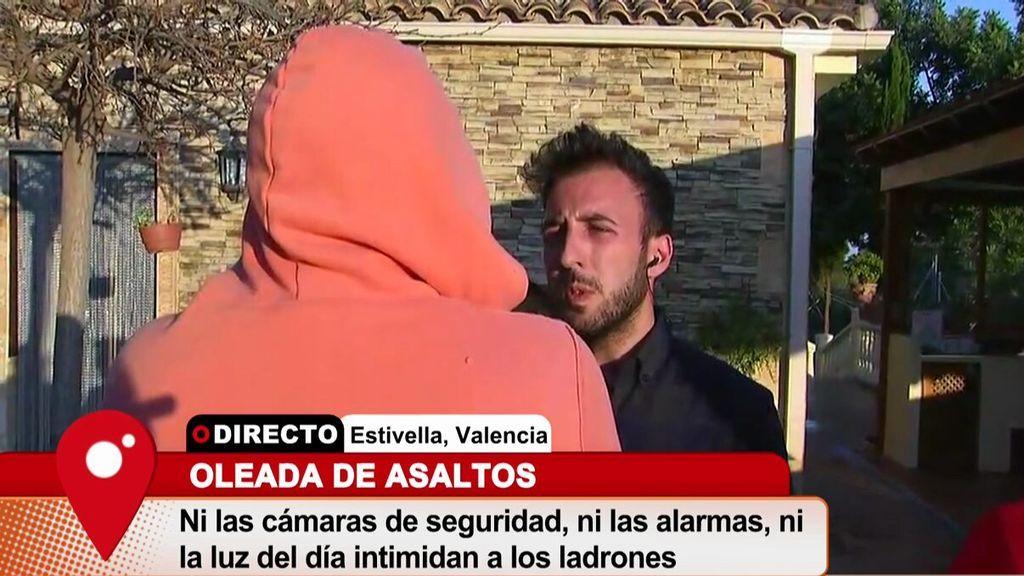 """Vecino de Estivella, Valencia: """"Me han robado tres veces y aquí no viene la policía"""""""
