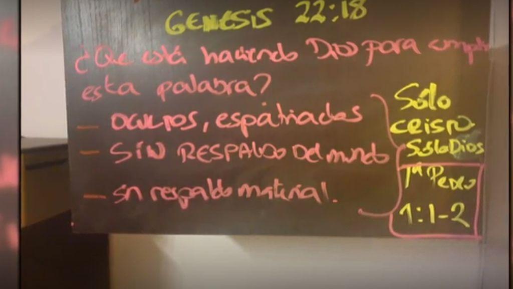 El mensaje del Génesis que asustó a todos: el pequeño secuestrado por María Sevilla quería ser pastor evangélico