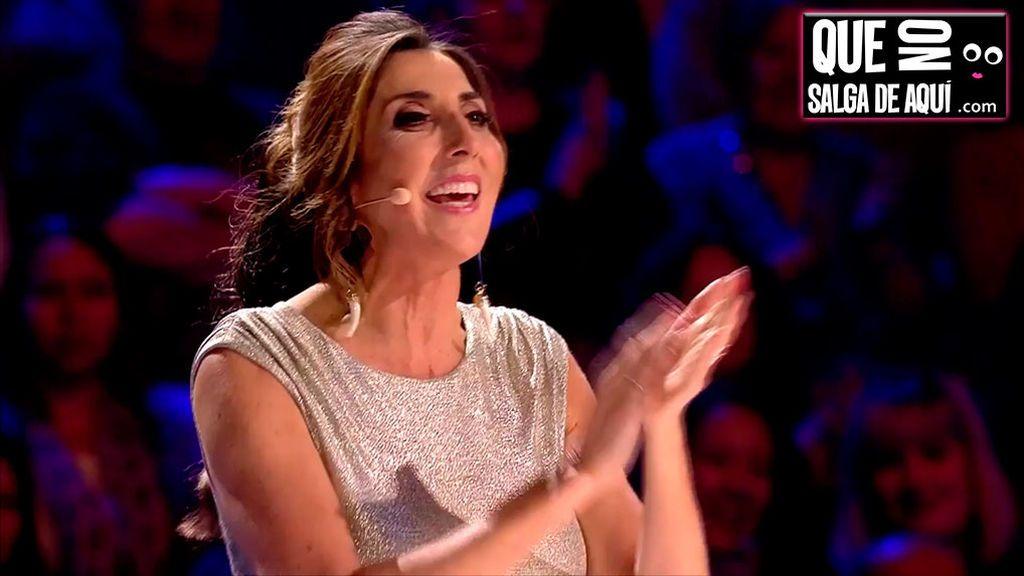 Paz Padilla nos resuelve la incógnita del final de Got Talent: ¿A quién habría votado?