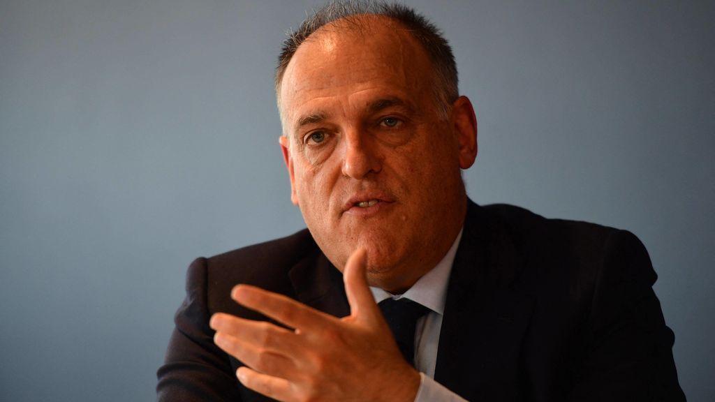 """Javier Tebas: """"LaLiga no pretender asumir la competencia de la organización del fútbol femenino"""""""
