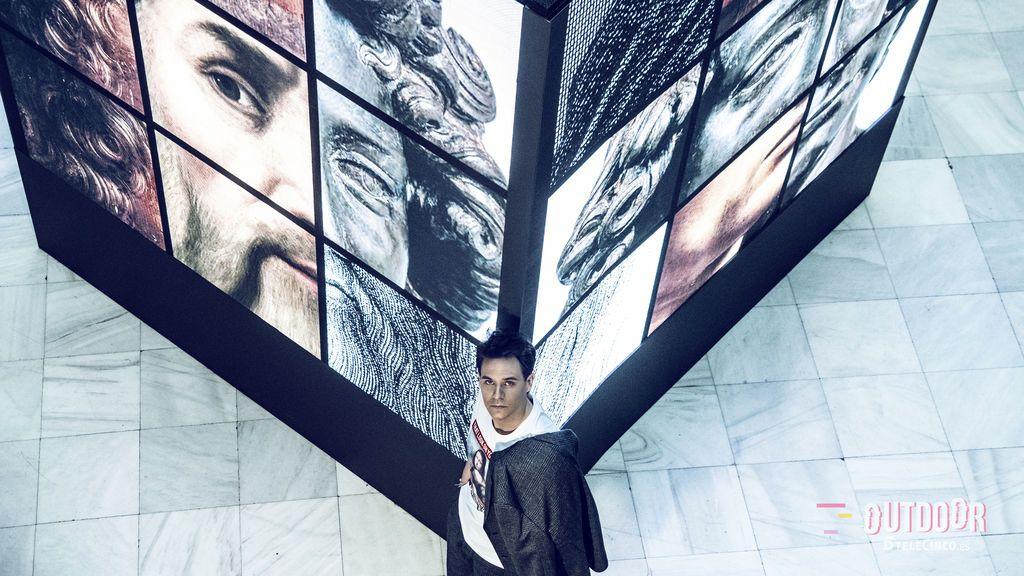 Christian Gálvez, el nuevo hombre del Renacimiento:  las imágenes de la  sesión