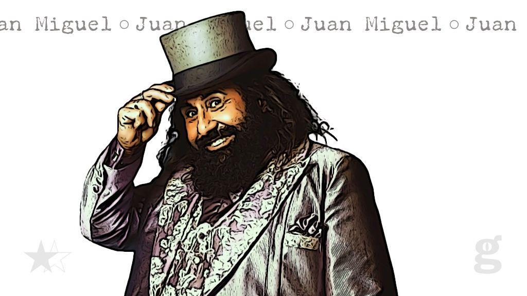 Juan Miguel, concursante barbitúrico