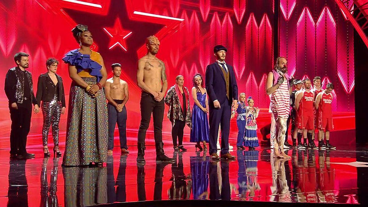 La voz de Cyntia, el ritmo de QDS Megacrew y humor absurdo de Cucko, los primeros finalistas de 'Got Talent'