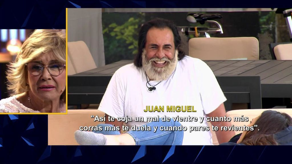 """Juan Miguel insulta a Milá Ximenez, le echa un mal de ojo y ella arremete contra él: """"¡Estás reventado!"""""""
