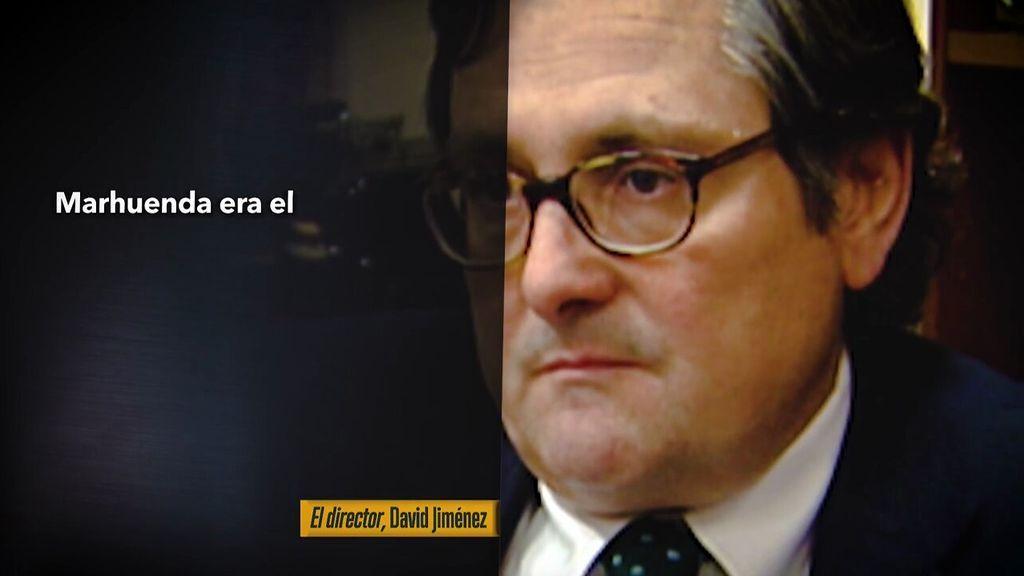 """David Jiménez, autor de """"El Director"""": Marhuenda no tenía talento para  el periodismo"""""""