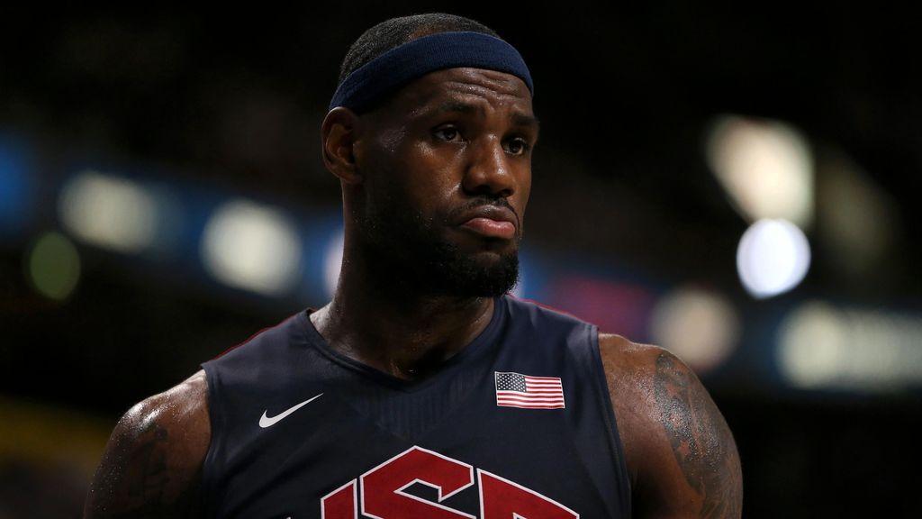 Lebron James descarta su participación en la Copa del Mundo FIBA 2019