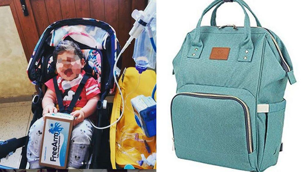 Una madre busca desesperadamente en Madrid la mochila con los medicamentos que necesita su hijo enfermo