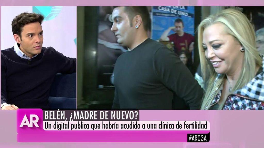 Antonio Rossi desmiente que Belén Esteban haya ido a una clínica de fertilidad para quedarse embarazada