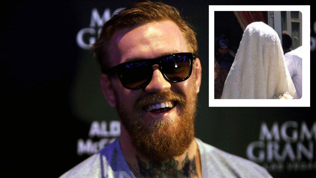 """""""Tío tu mujer parece una toalla"""", el mensaje racista de McGregor a la mujer de Khabib"""