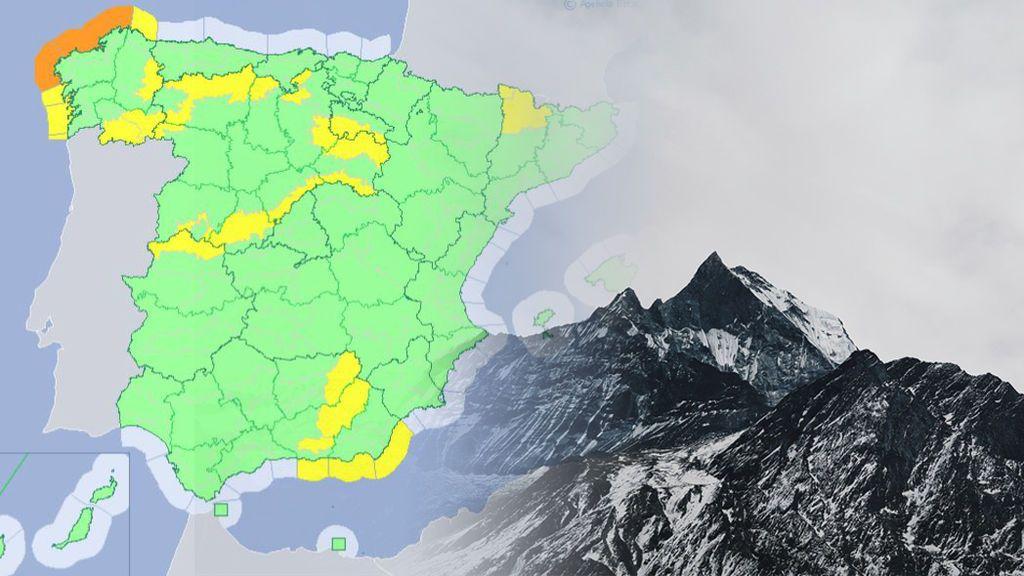 Ojo al temporal: hay avisos en más de 15 provincias por viento, nieve y fenómenos costeros