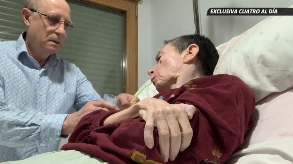 """""""Ha llegado el momento, el que tanto deseabas"""": Ángel ayuda a su mujer enferma a morir"""