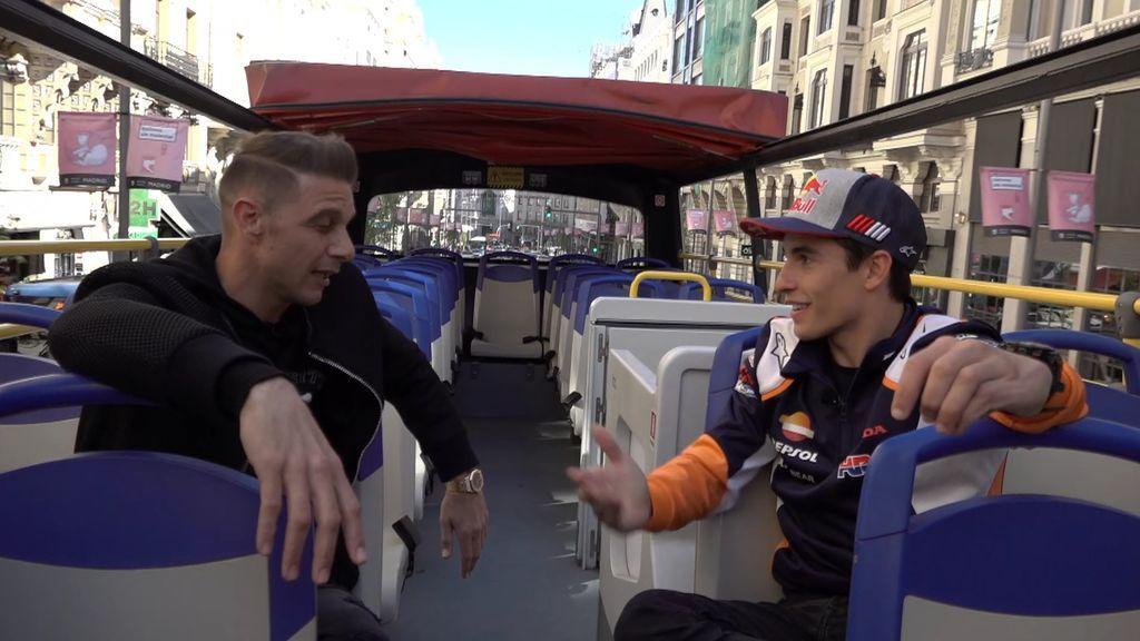 """""""En las motos tenemos uno de 40 que..."""", el guiño de Márquez a Rossi con la edad de Joaquín"""