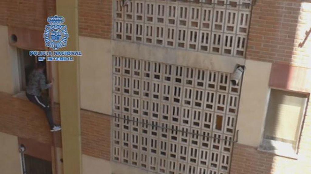 Nuevas imágenes de la insólita huida de un narco en Murcia