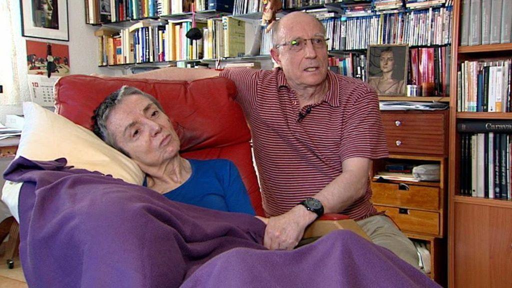 """Ángel, marido de la enferma terminal: """"Los cuidados paliativos no son una alternativa a la eutanasia, los dos deben coexistir"""""""